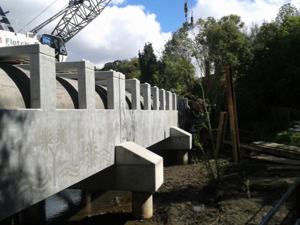 Eastern Interceptor Pipe Bridge