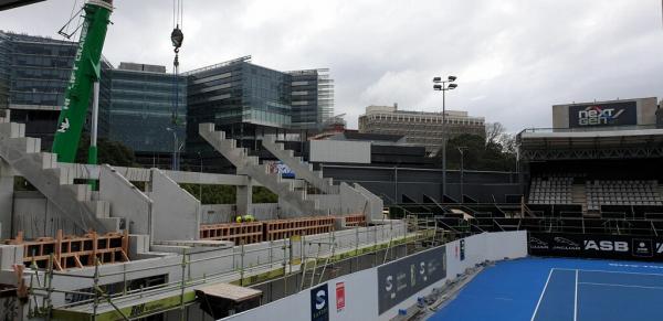ASB Tennis Stadium Stanley Street