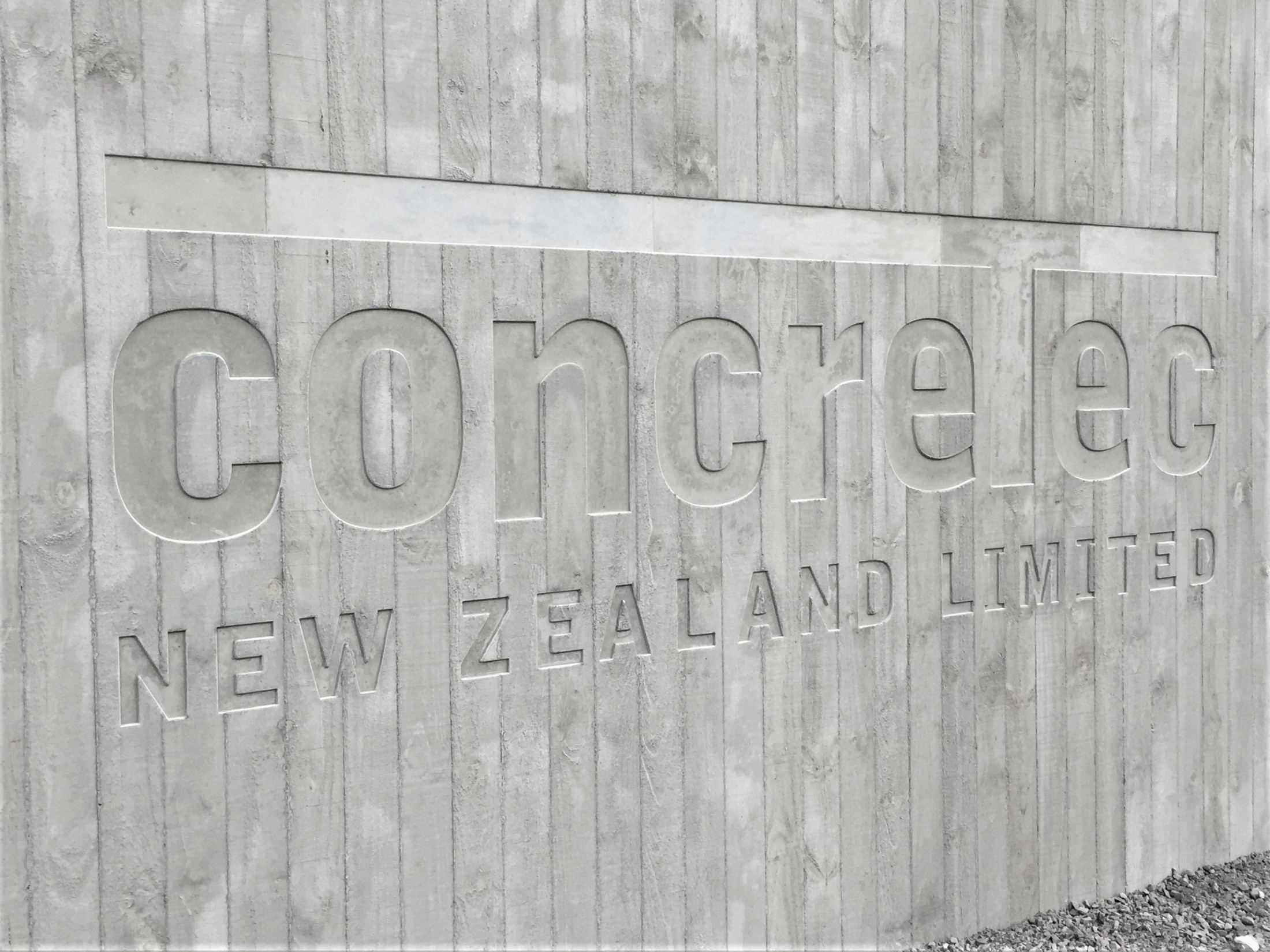 Concretec Nz Name In Timber Grain Pattern