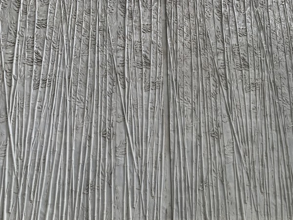 Bamboo formliner finish